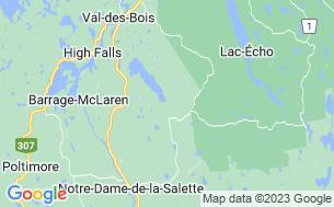 Map of Parc De Vr Royal Papineau