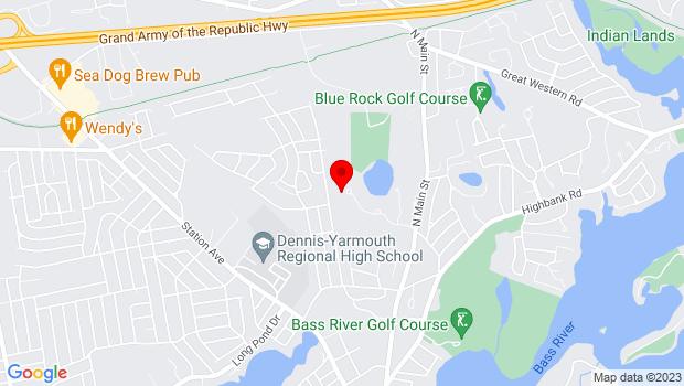 Google Map of 237 N Main St, South Yarmouth, MA 02664, South Yarmouth, MA 02664
