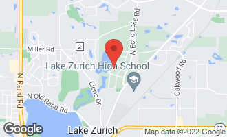Map of 23722 North South Lakewood Lane LAKE ZURICH, IL 60047