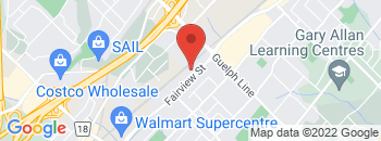 Google Map of 2377+Fairview+Street%2CBurlington%2COntario+L7R+2E3