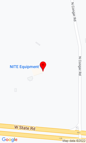 Google Map of NITE Equipment 2388 N Conger Road, Pecatonica, IL, 61063