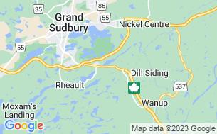 Map of Carol's Campsite