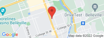 Google Map of 239+North+Front+Street%2CBelleville%2COntario+K8P+3C3