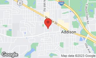 Map of 239 North Mill Road 306A ADDISON, IL 60101