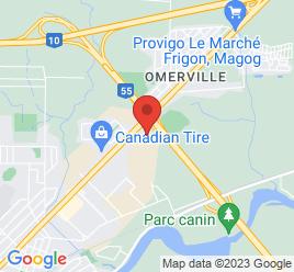Google Map of 2390+rue+Sherbrooke%2CMagog%2CQuebec+J1X+4E6