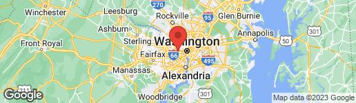 Map of 2397 QUEBEC STREET N ARLINGTON, VA 22207
