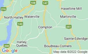 Map of Camping De Compton