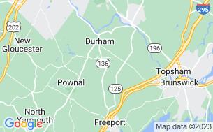 Map of Durham Leisure Center