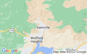 Map of Camp Kernville