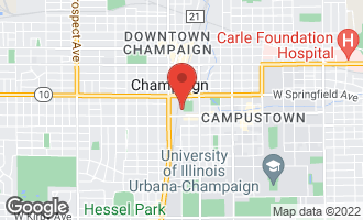 Map of 24 East Green Street CHAMPAIGN, IL 61820