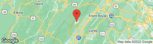 Map of 24 FORREST STREET BASYE, VA 22810