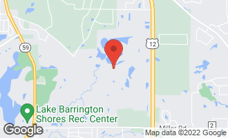 Map of 24 Hidden Brook Drive NORTH BARRINGTON, IL 60010