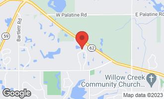 Map of 24 Stone Ridge Drive SOUTH BARRINGTON, IL 60010