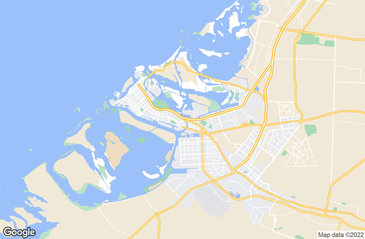 Google Map of أبو ظبي