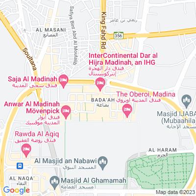 خريطة فندق فندق رويال ديار