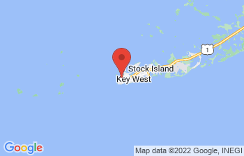 Map of Old Town Key West