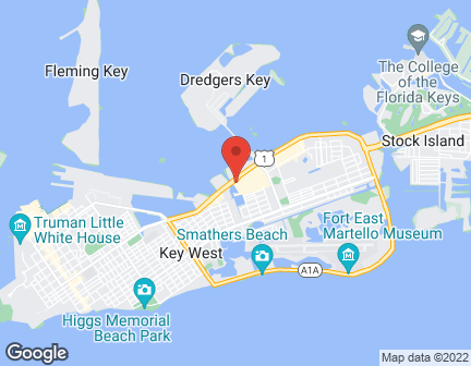 Mapa de 2710 N Roosevelt Blvd en Key West
