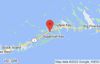 Map of Sugarloaf Key