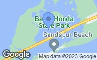 Map of Big Pine Key, FL