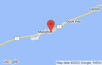 Map of Key Colony Beach