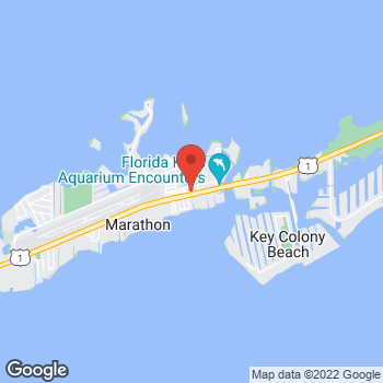 Map of Burger King - Temporarily Closed at 11150 Overseas Highway, Marathon, FL 33050