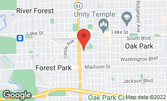 Map of 240 South Maple Avenue 2E OAK PARK, IL 60302