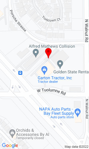 Google Map of 2400 North Golden State Blvd.  +Turlock+CA+95382