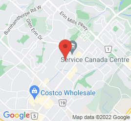 Google Map of 2400+Motorway+Boulevard%2CMississauga%2COntario+L5L+1X3