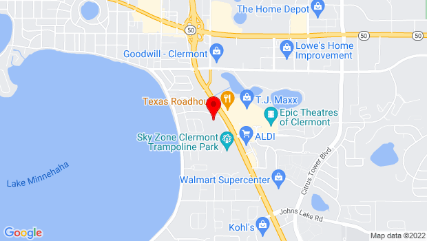 Google Map of 2400 S Highway 27 Suite 4308, Clermont, FL 34711