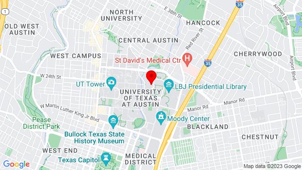Google Map of 2400 Trinity, Austin, TX 78705