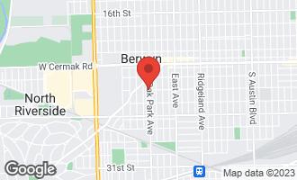 Map of 2400 Oak Park Avenue BERWYN, IL 60402