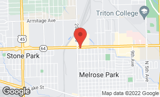 Map of 2400 West North Avenue MELROSE PARK, IL 60160