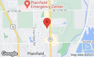 Map of 24035 Douglas Drive PLAINFIELD, IL 60585
