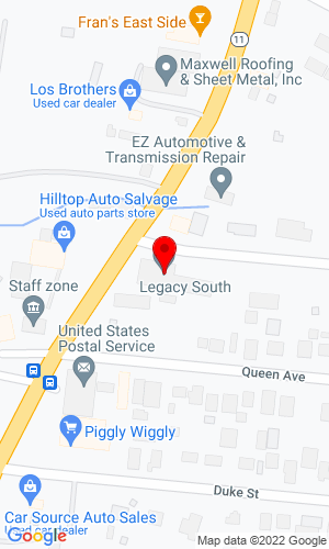 Google Map of CMI Equipment Sales, Inc. 2405 Dickerson Road, Nashville, TN, 37207