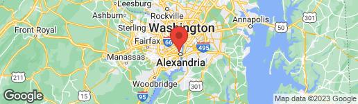 Map of 2409 JEFFERSON DAVIS HIGHWAY #102 ALEXANDRIA, VA 22301