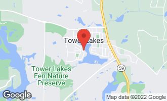 Map of 241 West Lake Shore Drive TOWER LAKES, IL 60010