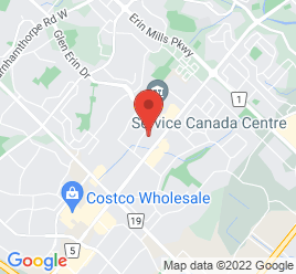 Google Map of 2411+Motorway+Blvd%2CMississauga%2COntario+L5L+3R2