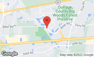 Map of 2411 Wilton Lane AURORA, IL 60502