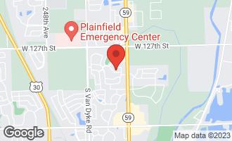 Map of 24118 Nottingham Avenue PLAINFIELD, IL 60585