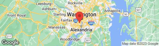 Map of 2413 QUEEN STREET S ARLINGTON, VA 22202
