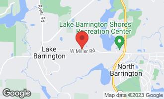 Map of 2416 Oak Hill Road #1061 LAKE BARRINGTON, IL 60010