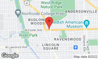Map of 2416 West Foster Avenue 2N CHICAGO, IL 60625