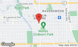 Map of 2416 West Wilson Avenue CHICAGO, IL 60625