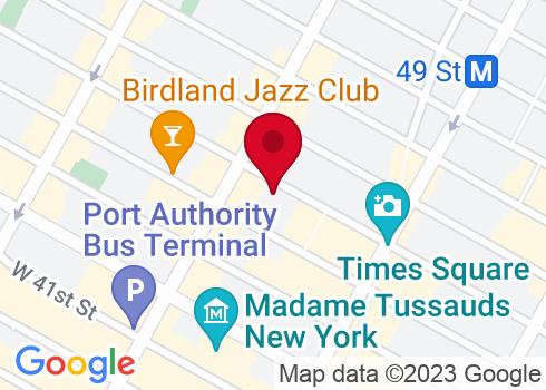 Bernard B. Jacobs Theatre Google Maps Location