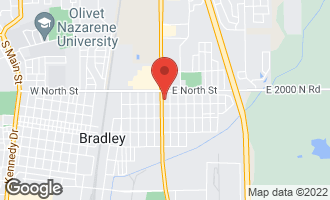 Map of 242 North Kinzie Avenue BRADLEY, IL 60915
