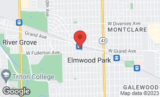 Map of 2423 North 75th Court ELMWOOD PARK, IL 60707