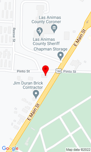 Google Map of H & M Implement Co. 2425 E. Main Street, Trinidad, CO, 81082