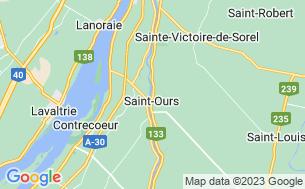 Map of Camping Domaine De La Paix