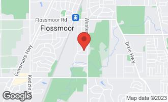 Map of 2426 Dundonald Road FLOSSMOOR, IL 60422