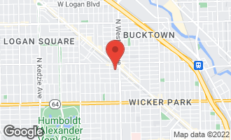 Map of 2427 West Homer Street CHICAGO, IL 60647